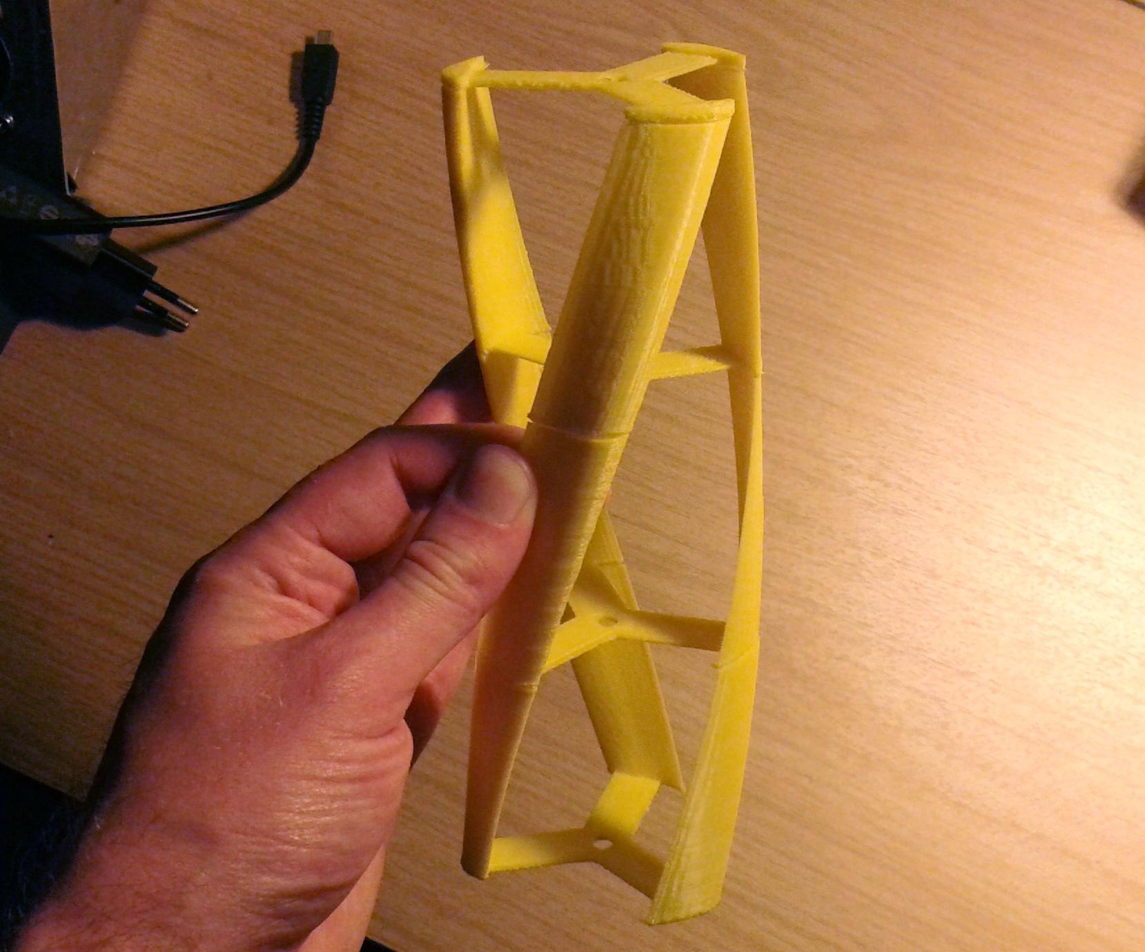 Min första 3D-utskrift
